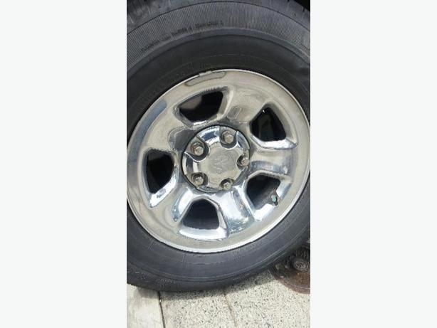 4 dodge chrome rims