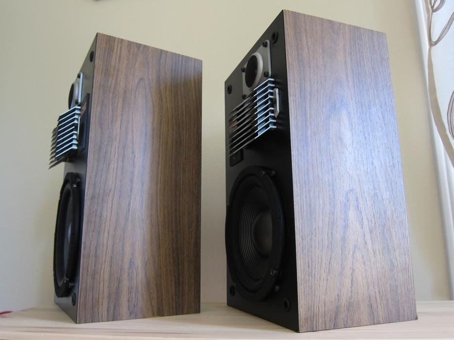 X Rare Marantz Ls 550 3 Way Stereo Bookshelf Speakers