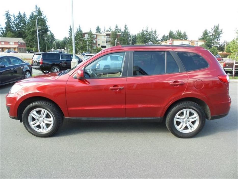 2010 Hyundai Santa Fe Gl Awd W Roof Racks Outside Comox