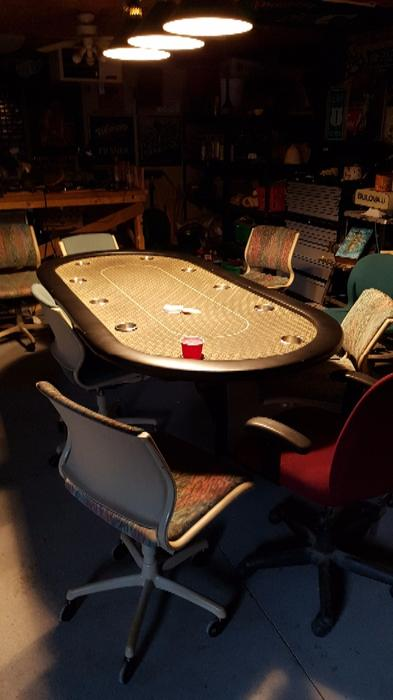 Used poker tables houston
