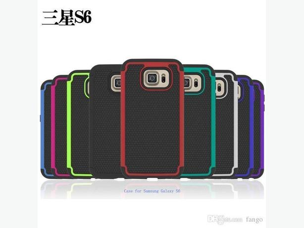 Dual Layer Hybrid Rugged Shockproof Case for Samsung Galaxy S6