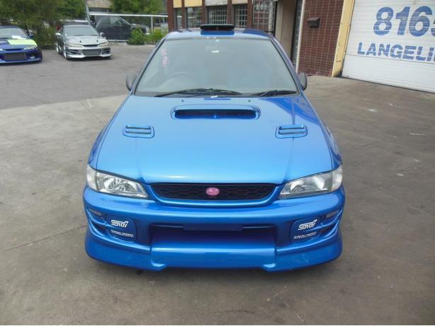 JDM Subaru Impreza WRX STi WRC Edition RA