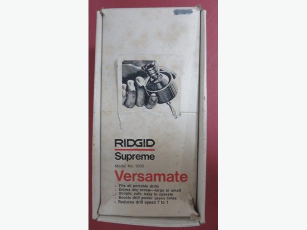 RIDGID SUPREME VERSAMATE