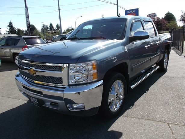 2013 chevy silverado crew cab 4x4 for sale outside metro vancouver vancouver. Black Bedroom Furniture Sets. Home Design Ideas