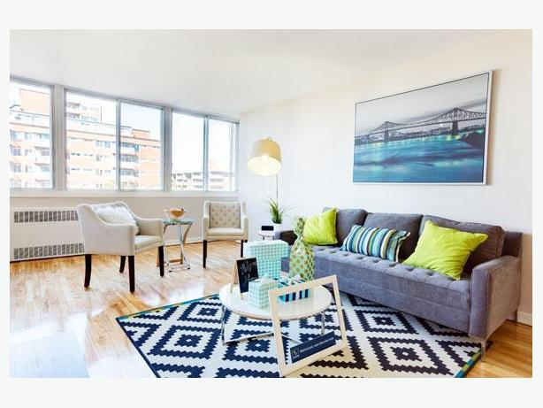 2 bedroom for rent in Côte Saint-Luc- private balconies!