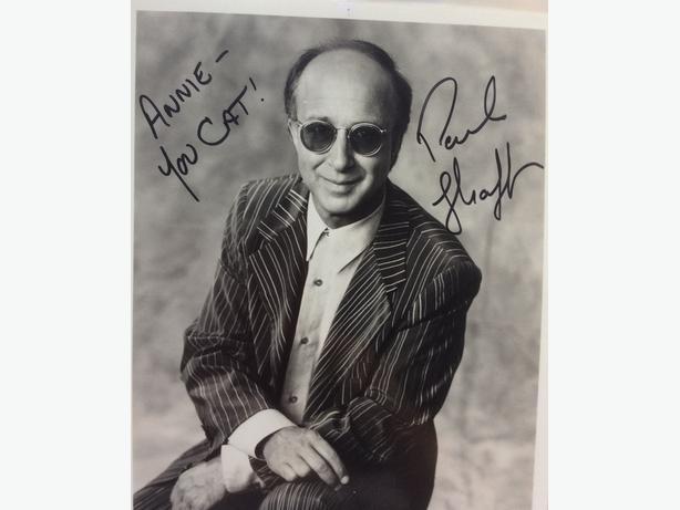 Paul Shaffer autograph for sale