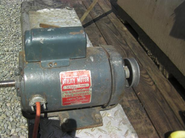 3 4 hp electric motor rpm 3450 sooke victoria for Red wing ball bearing ac motor