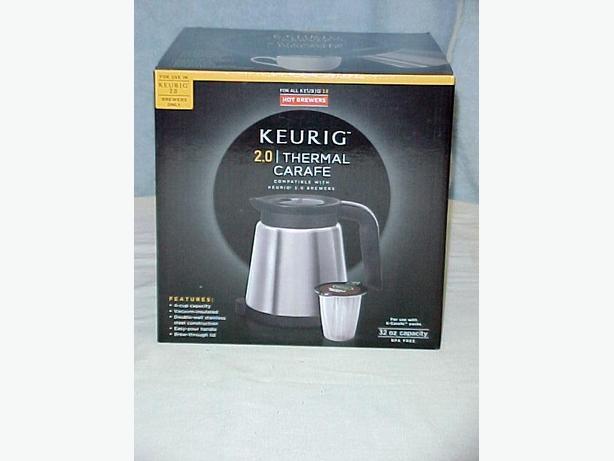 Keurig K2.0 Thermal Carafe~New in Box