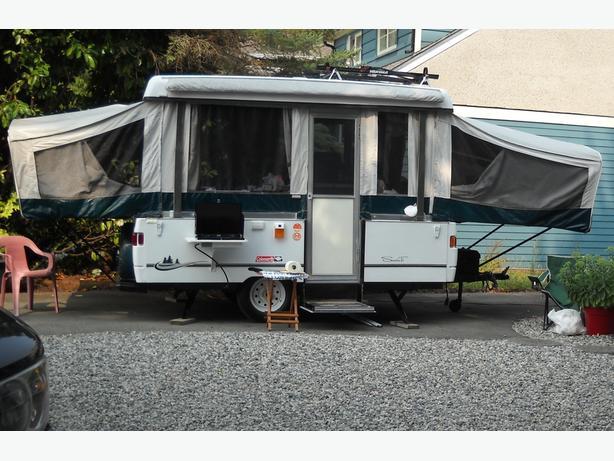 2002 Colman Tent Trailer Campbell River Comox Valley