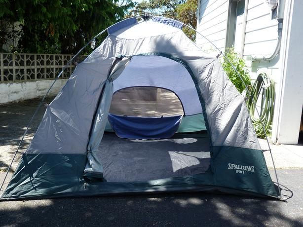 Spalding UV Tex 5 - 3 person dome tent & Spalding UV Tex 5 - 3 person dome tent Saanich Victoria