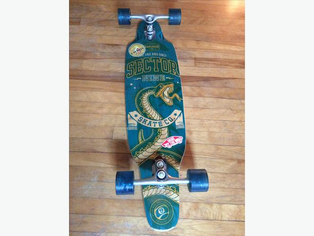 sector nine longboard (MAKE OFFER)