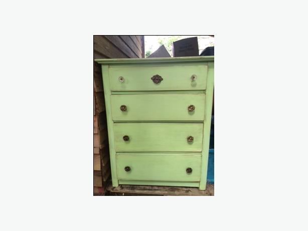 Cute Green Dresser