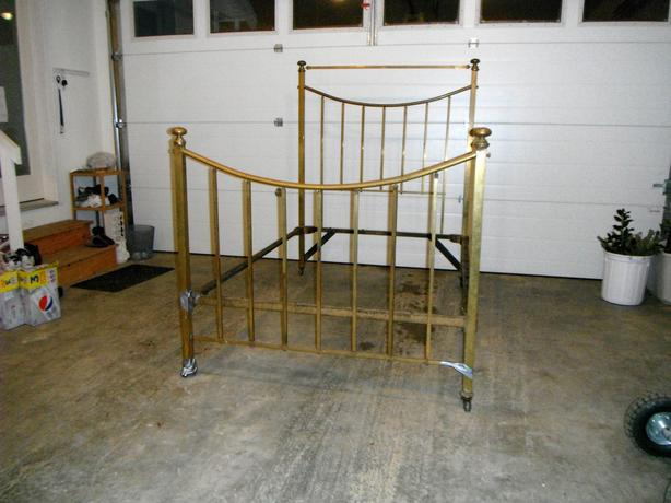 Grandma's Brass Bed