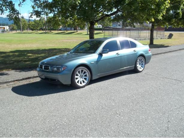 2002 BMW 745i-EVERY AVAILABLE BMW OPTION ON THIS CAR