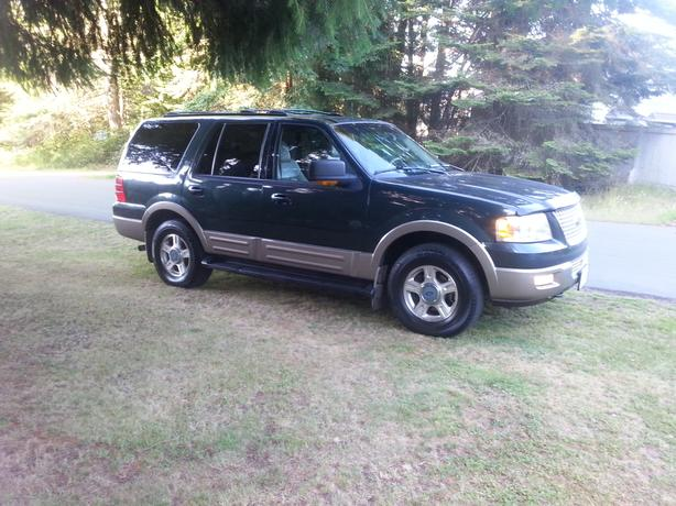 2003 ford expedition eddie bauer outside comox valley. Black Bedroom Furniture Sets. Home Design Ideas
