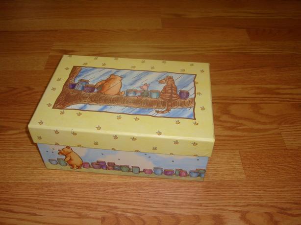 Like New Winnie the Pooh Storage Box - $3