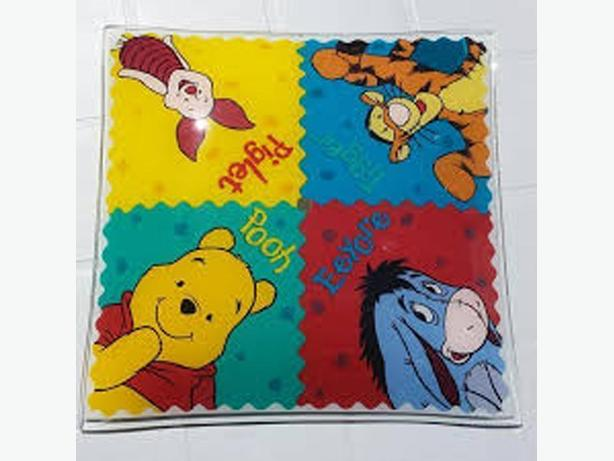 Like New Winnie the Pooh Ceiling Light Shade Cover - $10