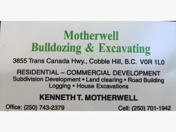 Bulldozing/Excavating Service & More