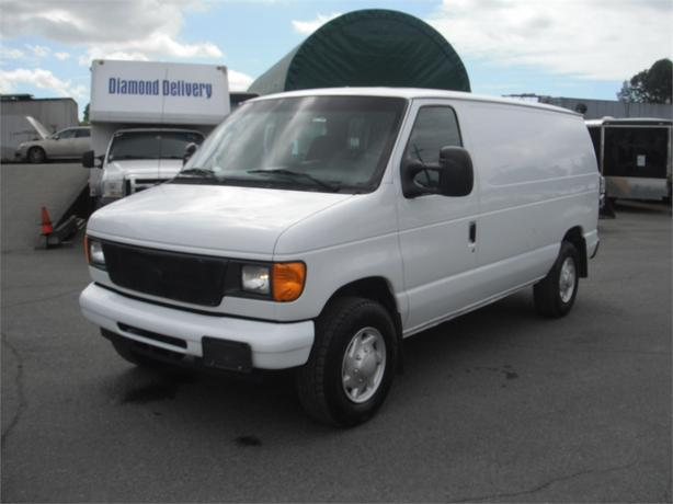 2007 ford econoline e 350 super duty cargo van with. Black Bedroom Furniture Sets. Home Design Ideas