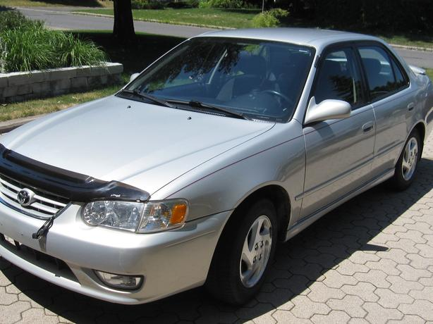 2001 Toyota Corolla S Safety Certified with Valid E-test, beautiful, low mileage