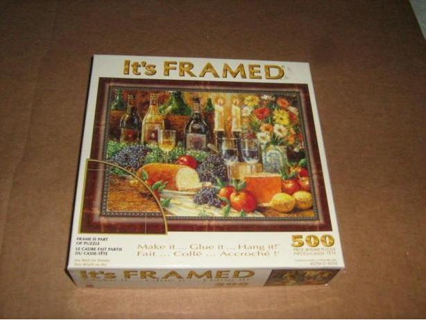 SURELOX  IT'S  FRAMED  500  PIECES  JIGSAW  PUZZLE