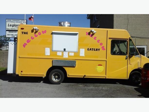 Food Truck 2000 E350 Cargo Van