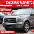 2013 Ford F-150 FX4-NAVI-LEATHER-AC SEATS-ECOBOOST-S.ROOF-4X4