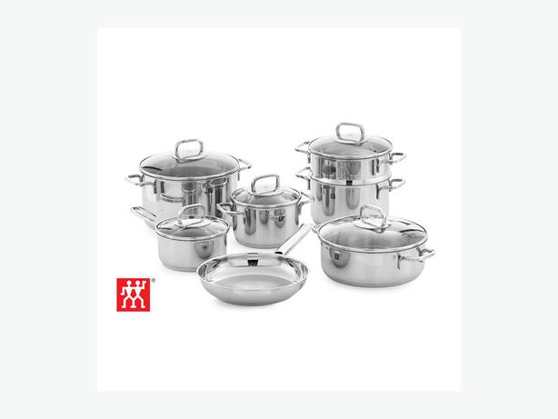 Zwilling Henckels Quadro- 10 piece cookware set-pots new in box