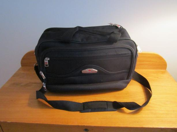 Air Canada Black Carry On bag