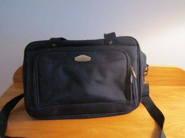 Ricardo Navy Blue Carry On luggage