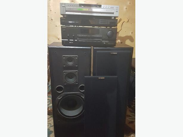 5 PIECE HOME STEREO SYSTEM