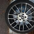 "Four 18"" Alloy Rims for Low Profile Tires from Volkswagen Jetta"