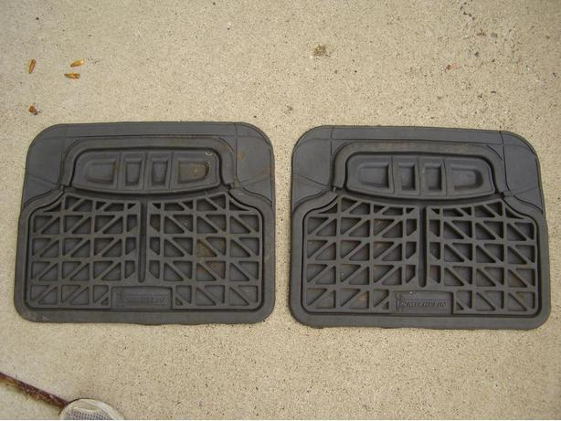 Michelin Back Floor Rubber Mats