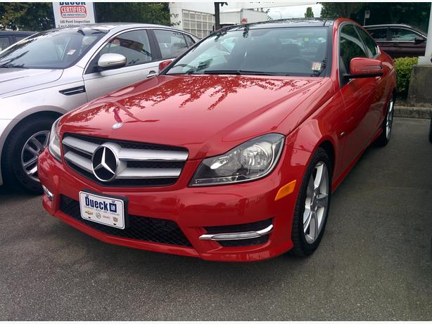 2012 Mercedes-Benz C-CLASS C250 - **ONLY 25,885 KM** - Local BC Car