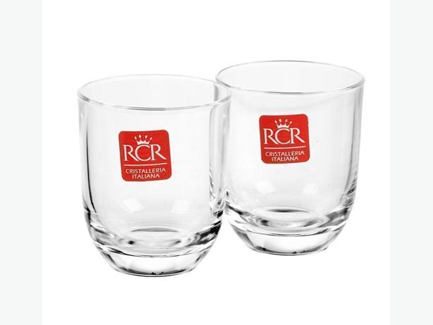 RCR Toscana Bicchieri Liquore Clear Crystal Shot Glass (Set of 2)