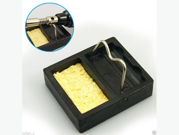 Compact Soldering Gun Stand Holder Set With Sponge