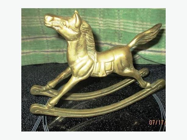 Brass horse