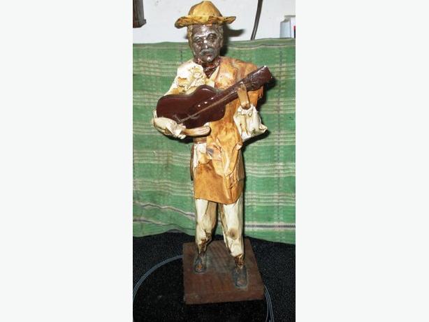 Paper mache Figurine