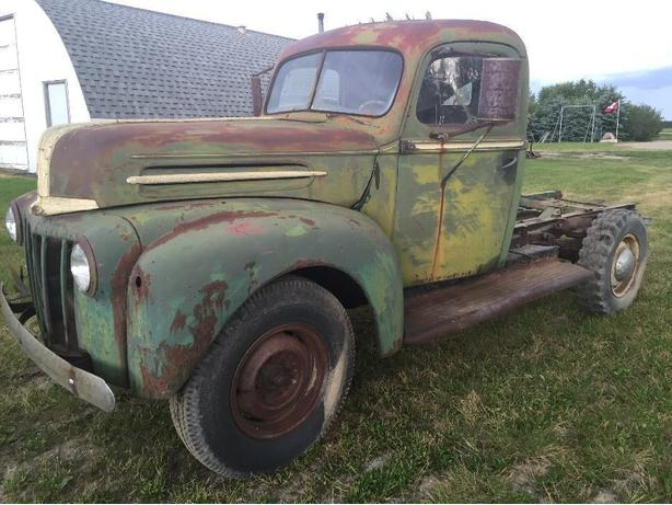 LATE 1940'S FORD 1 TON