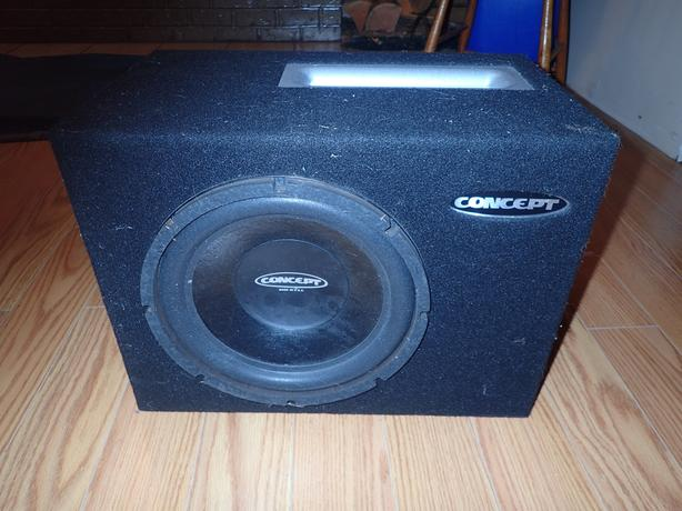 brand new concept audio 12 in sub in ported box