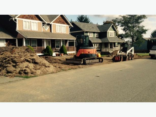 Excavator and Bobcat service