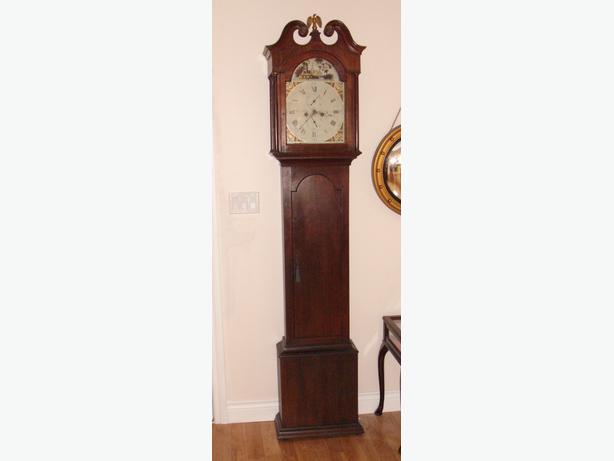 Antique Longcase (Grandfather) Clock -  circa 1800