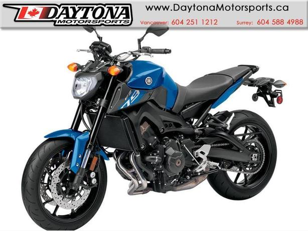 * SOLD * 2016 Yamaha FZ09 Sport Motorcycle