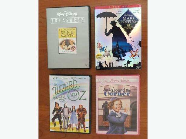 Lot of 4 Family DVD's