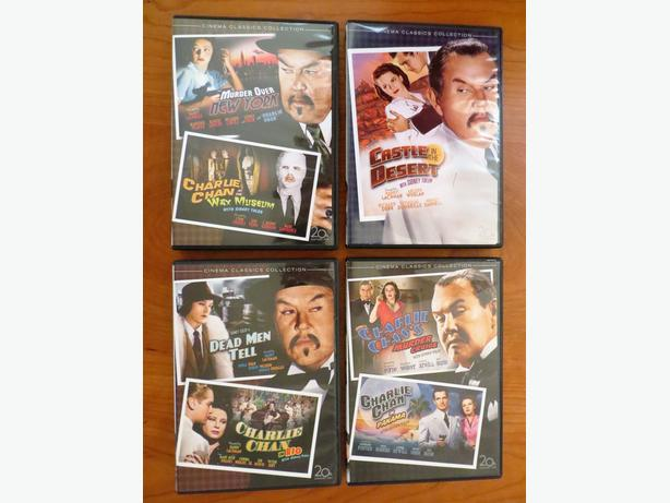 7 Charlie Chan Movies on 4 DVD's
