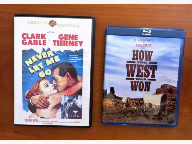 2 Classic Movie DVD's