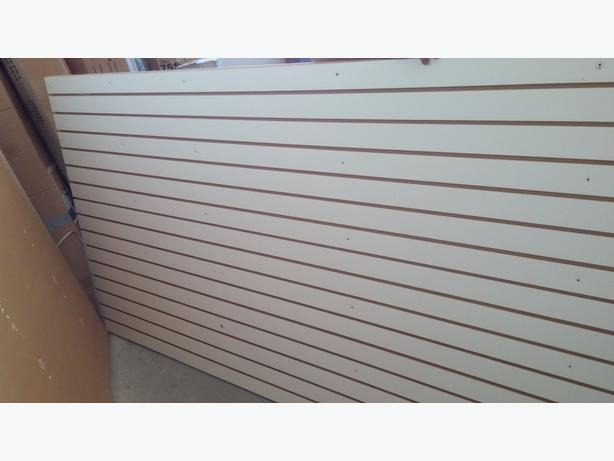 4 x 8  Slatted Wall Sheet
