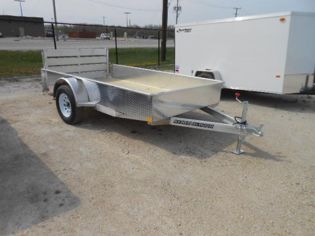 2016 Stronghaul 66X10 Aluminum Utility Trailer HH3988
