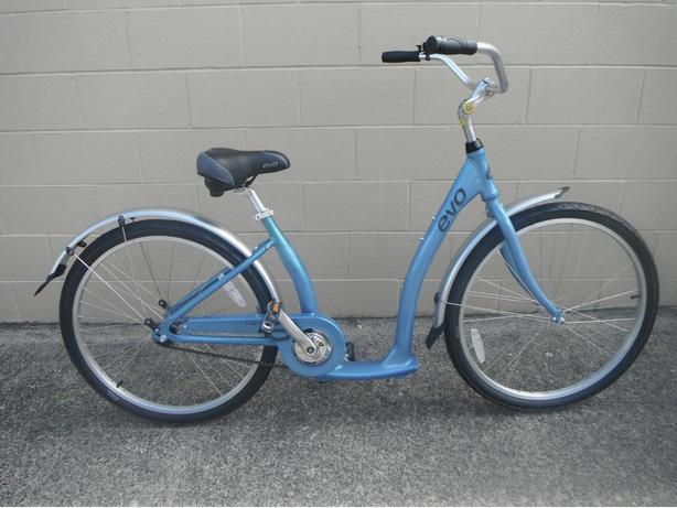 Evo Oak Hill single speed cruiser bike