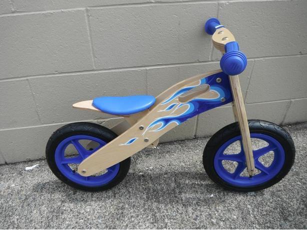 Evo kids wooden run bikes